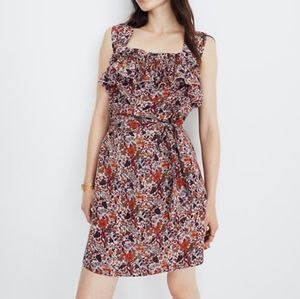 MADEWELL X KAREN WALKER Rosalie silk dress